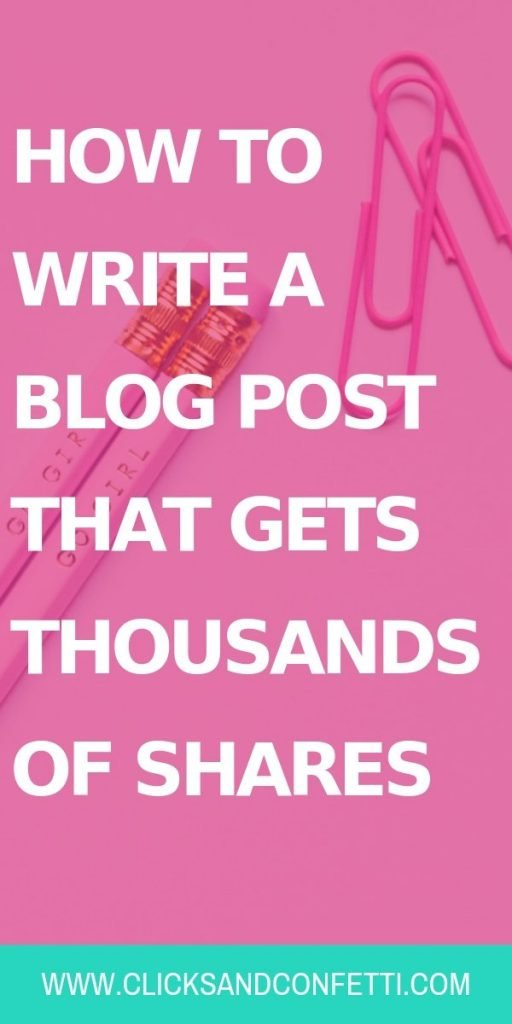 How To Write A Blog Post That Gets Thousands Of Shares