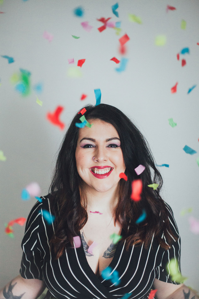 How to take confetti pictures like a pro