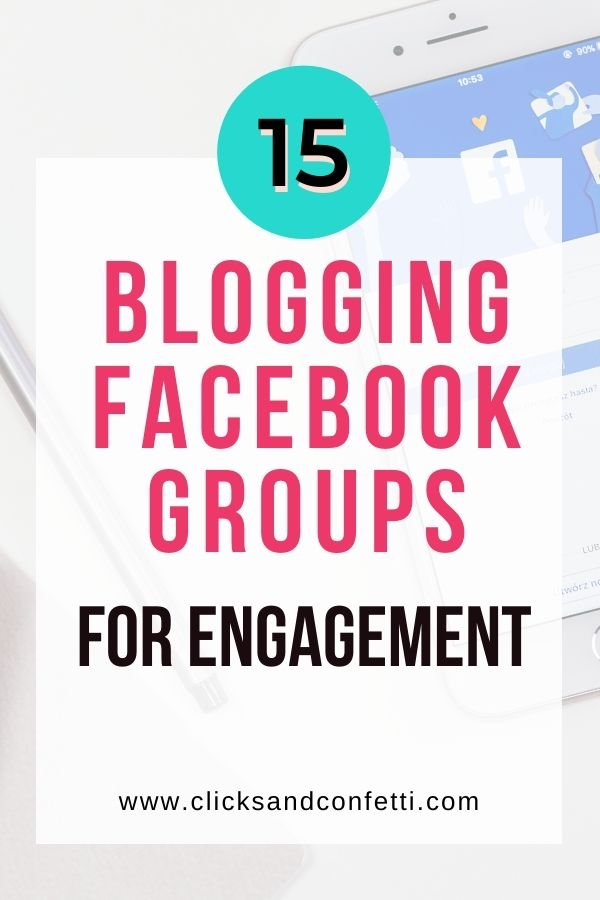 Facebook roundup and blogging engagement groups